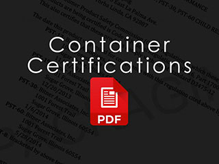 Plastic Container Certifications and Information