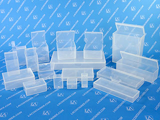 Flex-A-Top Small Square Plastic Box Containers