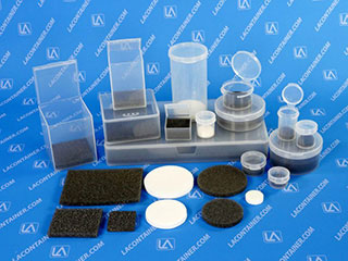Soft Foam Inserts For Round And Square Plastic Containers